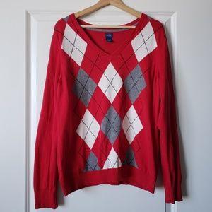 IZOD Argyle Sweater